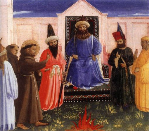 Trial by Fire | Fra Angelico | Oil Painting