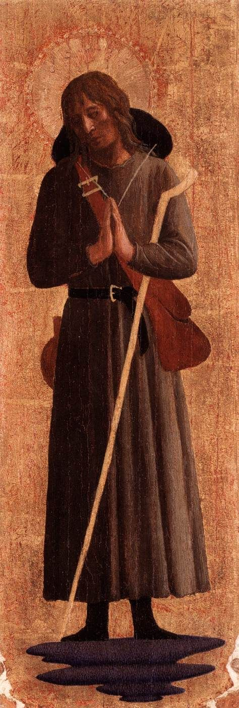 Saint Roch | Fra Angelico | Oil Painting