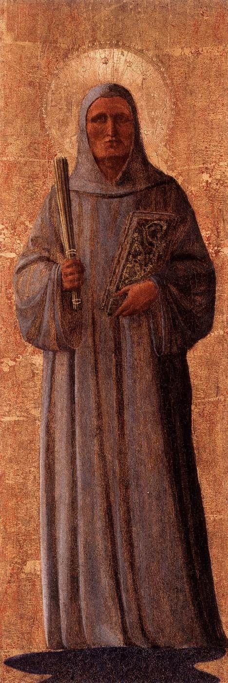 Saint Bernard   Fra Angelico   Oil Painting