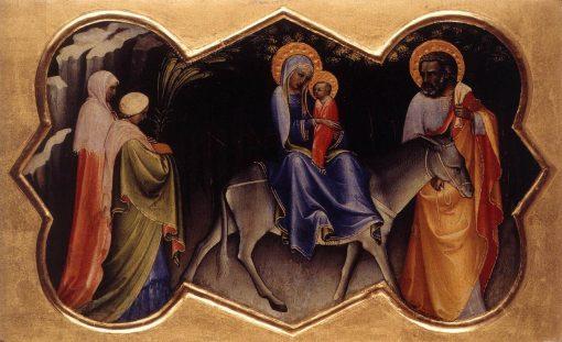 Flight into Egypt   Lorenzo Monaco   Oil Painting