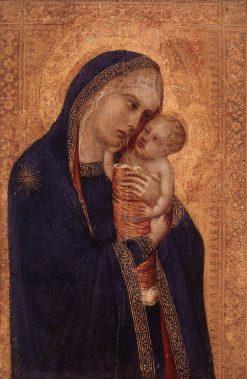 Virgin and Child | Pietro Lorenzetti | Oil Painting