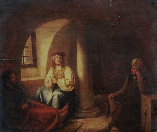 Joseph in Prison | Gerbrand van den Eeckhout | Oil Painting