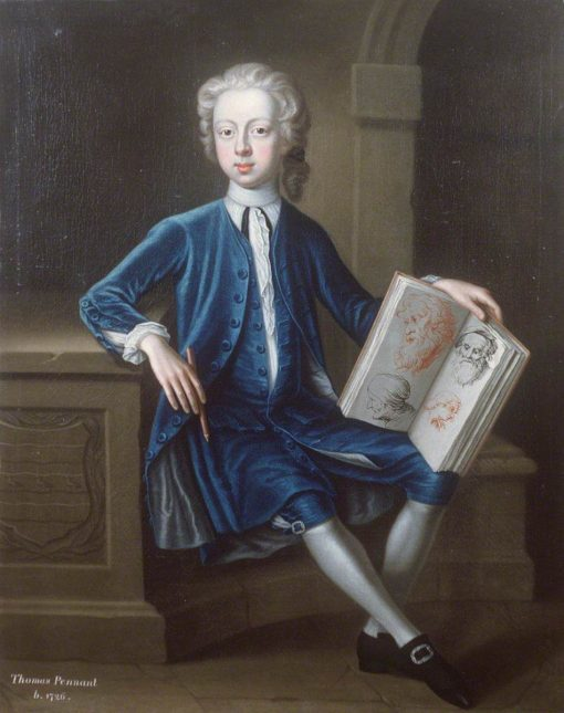 Thomas Pennant (1726-1798) | Joseph Highmore | Oil Painting