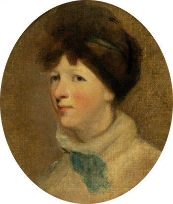 Portrait of a Lady   Thomas Lawrence   Oil Painting
