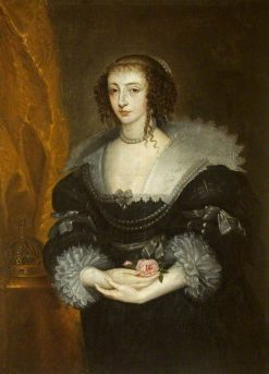 Henrietta Maria (1609-1669) | Anthony van Dyck | Oil Painting