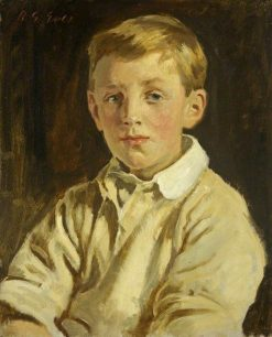 George Edward Dutton as a Boy | Reginald Grenville Eves | Oil Painting