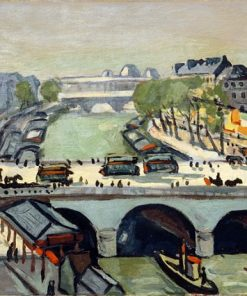 Le Pont St. Michel | Albert Marquet | Oil Painting