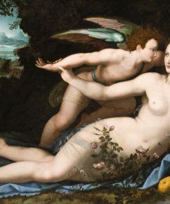 Venus Disarming Cupid | Alessandro Allori | Oil Painting