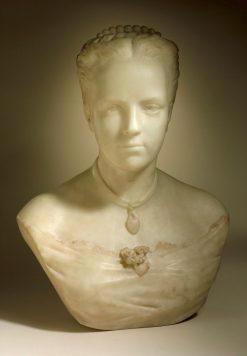 Florence Gibbs | Augustus Saint Gaudens | Oil Painting
