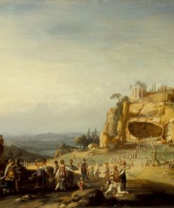 Arcadian Landscape | Bartholomeus Breenbergh | Oil Painting