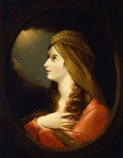 Portrait of a Lady | Benjamin West | Oil Painting