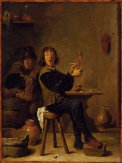 The Smoker | David Teniers II | Oil Painting