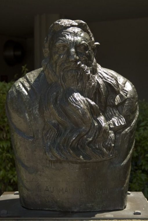Bust of Rodin | Emile Antoine Bourdelle | Oil Painting