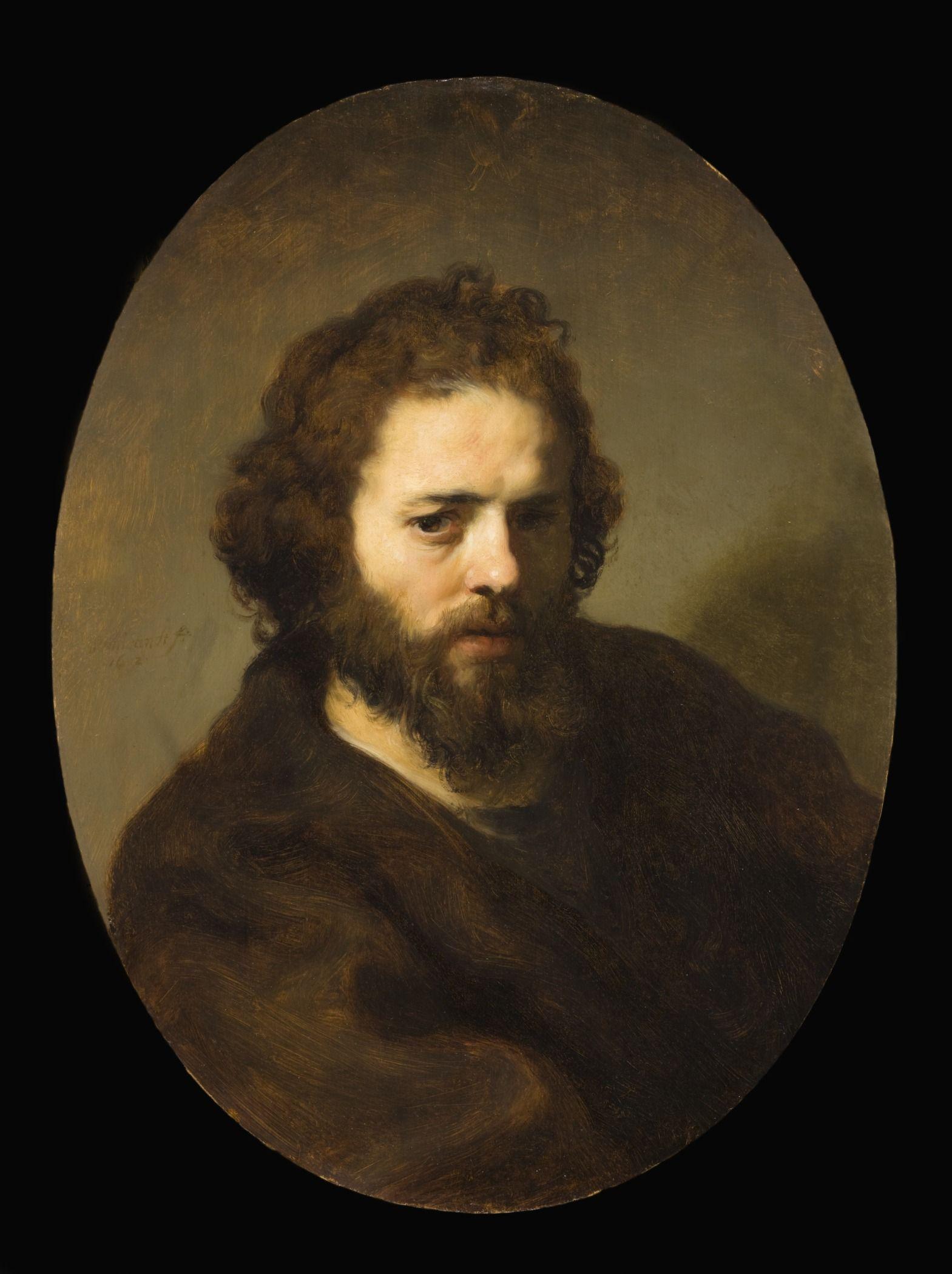Portrait of a Bearded Man | Govaert Flinck | Oil Painting