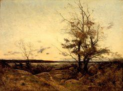 Sunset Landscape | Henri Joseph Harpignies | Oil Painting