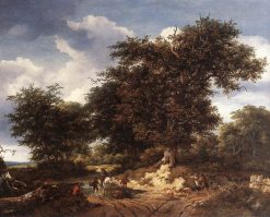 The Great Oak | Jacob van Ruisdael | Oil Painting