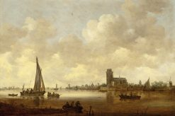 View of Dordrecht | Jan van Goyen | Oil Painting