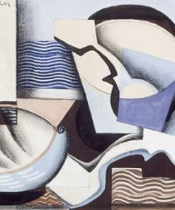 Still Life with Pail and Scoop | Louis Marcoussis | Oil Painting