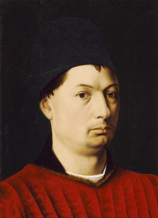 Portrait of a Man   Petrus Christus   Oil Painting