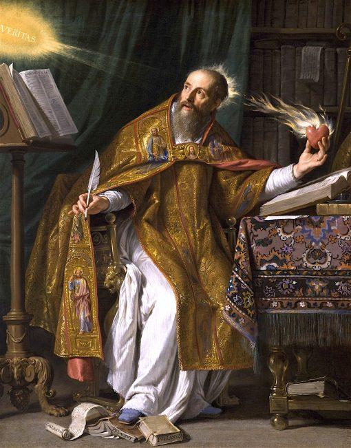 Saint Augustine | Philippe de Champaigne | Oil Painting