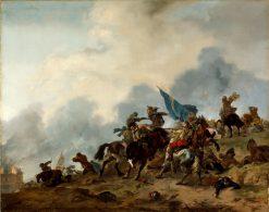 Battle Scene | Philips Wouwerman | Oil Painting