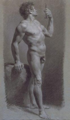 Study of a Man | Pierre Paul Prud'hon | Oil Painting