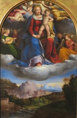 Madonna and Child in Glory | Il Garofalo | Oil Painting