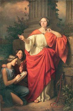 Portrait of Jadwiga ?uszczewska | Jozef Simmler | Oil Painting