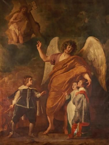 The Guardian Angel | Gaspard de Crayer | Oil Painting