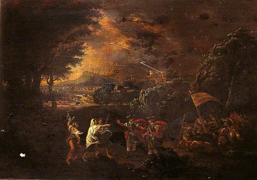 Macbeth Meeting the Witches | Francesco Zuccarelli | Oil Painting