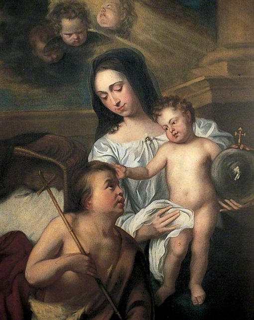 Virgin and Child with Saint John | Gaspard de Crayer | Oil Painting