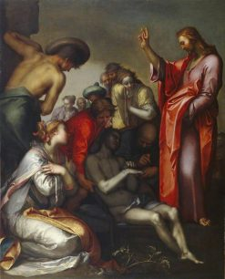 The Raising of Lazarus | Abraham Bloemaert | Oil Painting