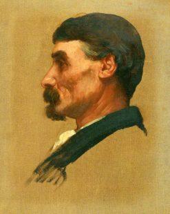Study of a Head | Alphonse Legros | Oil Painting