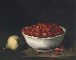 Strawberries | Antoine Vollon | Oil Painting