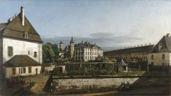 The Fortress of Konigstein: Courtyard with the Brunnenhaus | Bernardo Bellotto | Oil Painting