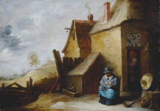 Cottage in a Landscape | David Teniers II | Oil Painting