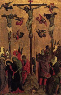 Crucifixion | Duccio di Buoninsegna | Oil Painting