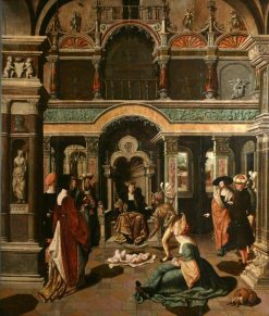 The Judgement of Solomon | Flemish School th Century Unknown | Oil Painting