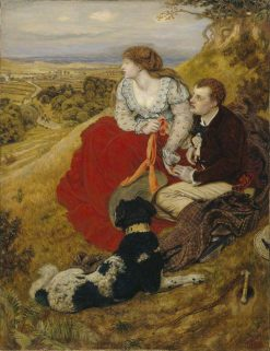 Byron's Dream | Ford Madox Brown | Oil Painting
