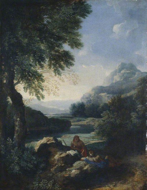 Landscape with Shepherds | Gaspard Dughet | Oil Painting