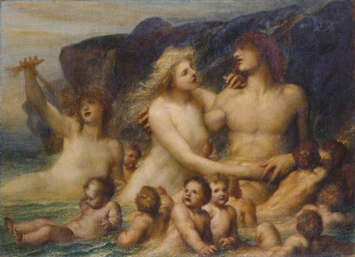 A Greek Idyll | George Frederic Watts | Oil Painting