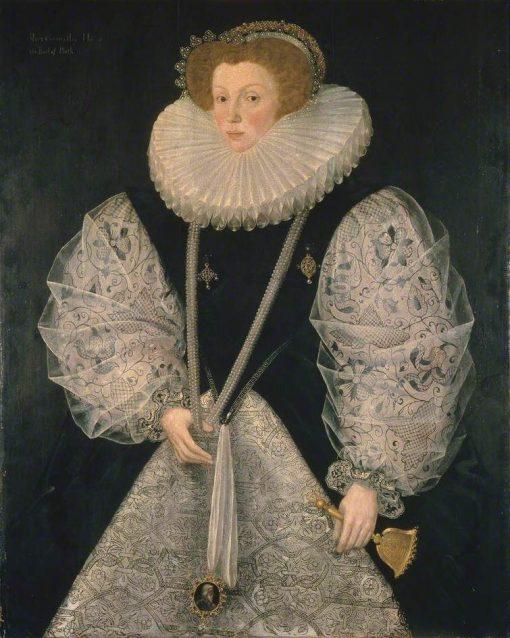 Mary Cornwallis | George Gower | Oil Painting