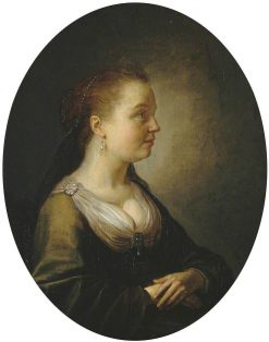 Portrait of a Girl | Gerrit Dou | Oil Painting