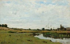 The Winding River | Henri Joseph Harpignies | Oil Painting