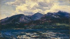 Arran (across Kilbrannan Sound) | Henry Moore | Oil Painting