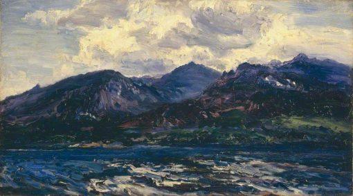 Arran (across Kilbrannan Sound) | Henry Moore | Oil Painting