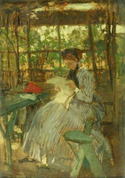 In the Garden | Jacob Maris | Oil Painting
