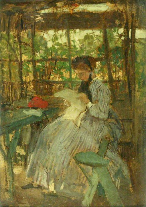 In the Garden | Jacob Maris | Oil Painting