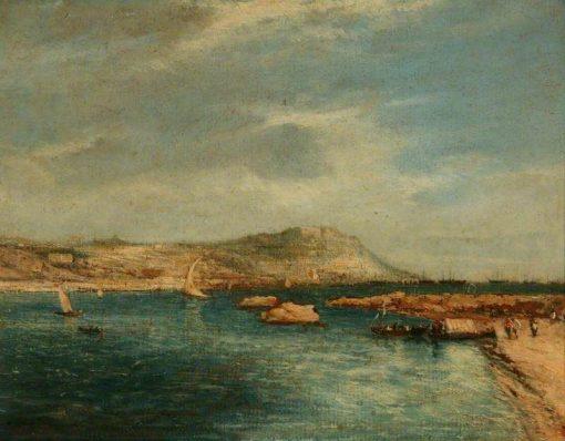 Lisbon from Porto Brandão | James Holland | Oil Painting