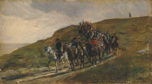 Advance Guard of an Army | Jean Louis Ernest Meissonier | Oil Painting